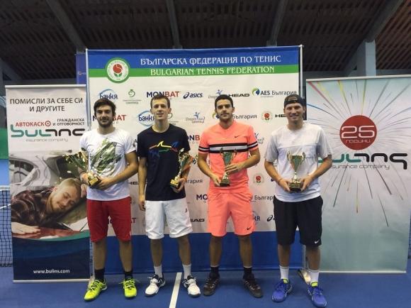Милушев и Шандаров спечелиха титлата на двойки на Държавното в зала