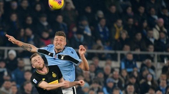 Лацио обърна Интер и завърза възела в Серия А (видео)