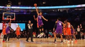 """Американците спечелиха """"Мача на Изгряващите звезди"""" в НБА"""