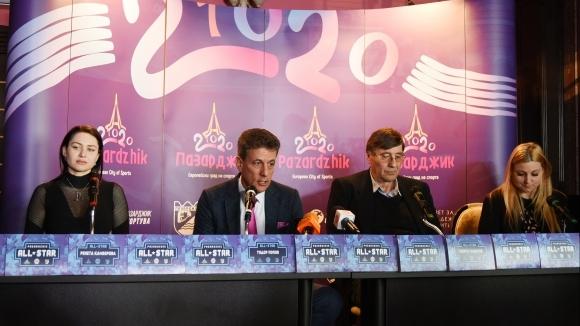 """""""Мачът на звездите"""" в Националната баскетболна лига ще се играе на 22 март в Пазарджик"""
