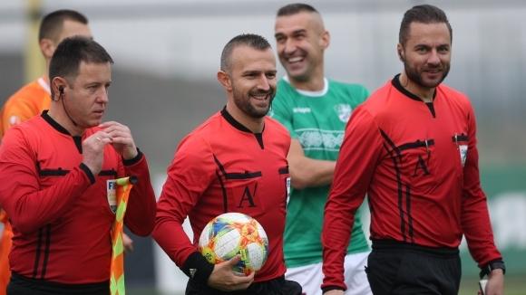 Ивайло Стоянов ще ръководи дербито между Черно море и Левски (съдийски назначения за мачовете от 22-ия кръг)