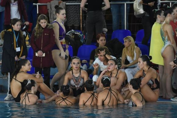 Наши треньори по артистично плуване с обучение по европейска програма