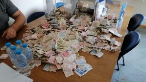 """Голямото броене започна! Урните с парите пристигнаха на """"Герена"""""""