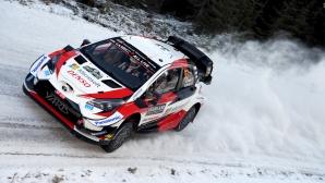 Елфин Евънс с Toyota спечели Рали Швеция