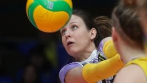 Жана Тодорова: Пожелавам си хубава и емоционална победа срещу Уралочка