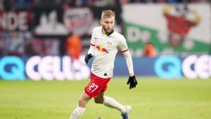 Заместникът на продадения капитан с нов контракт в Лайпциг