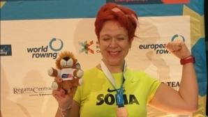 Мария Попова с бронз на гребен ергометър от Евро 2020