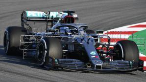 Ботас най-бърз до обедната почивка на първия тестов ден във Формула 1