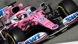 Серхио Перес певеде до обедната почивка във втория ден от тестовете във Формула 1