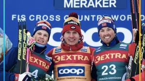 """Александър Болшунов спечели масовия старт от """"ФИС Ски Тур 2020"""" и оглави генералното класиране"""