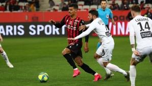 Ница изпусна преднина от два гола срещу Брест