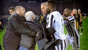 Една голяма гръцка футболна драма (снимки+видео)