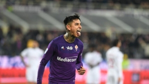 Фиорентина 0:0 Милан, начало на мача