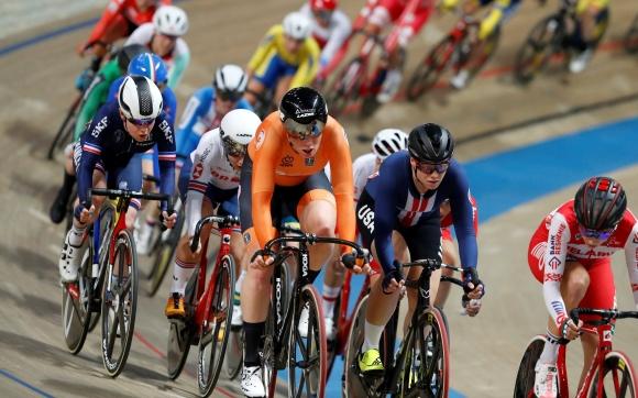 Дания постави нов световен рекорд в квалификациите на отборното преследване за мъже на СП по колоездене на писта