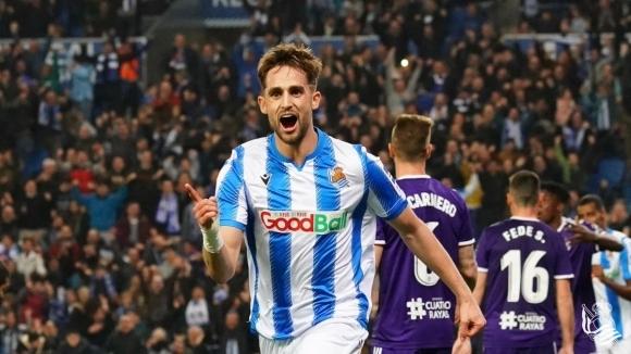 Реал Сосиедад излезе трети в Ла Лига (видео)