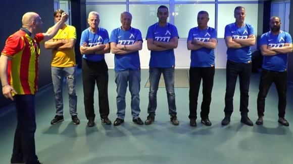 """Легенди на """"сините"""": Животът ни без Левски няма смисъл (видео)"""