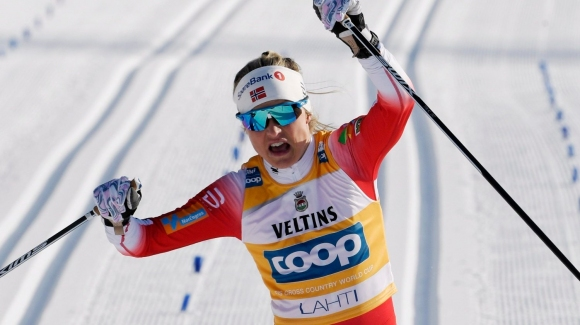 Терезе Йохауг с нова победа в ски-бягането, подобри рекорд на Марит Бьорген