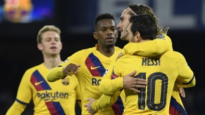 Наполи и Барселона оставиха всичко за реванша (видео+галерия)