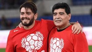 Синът на Марадона: Меси е феномен, но баща ми е извънземен