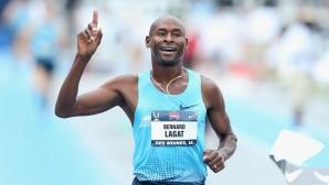 45-годишният Лагат избра хълмисти терени в Кения, за да се готви за шестата си олимпиада