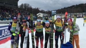 Норвегия спечели титлата в индивидуалната смесена щафета на ЕП по биатлон, България остана на 18-а позиция