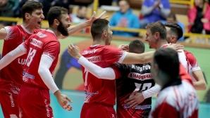 Нефтохимик остава начело в Суперлигата след победа над Левски (статистика)