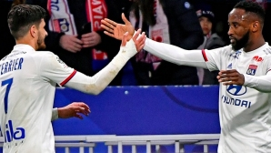 Лион спечели дербито със Сент Етиен