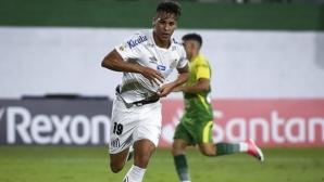 Ювентус си харесал бразилски талант от Сантос