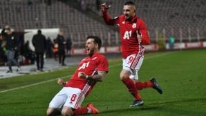 ЦСКА-София изпревари Левски след два гениални шута на Кери (видео)