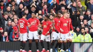 Ман Юнайтед отново удари Сити в дербито (видео)