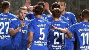 В Русия първенството продължава: Динамо с първа победа в Грозни от 8 години (видео)