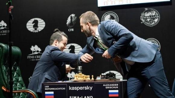 Четири ремита в четвъртия кръг на турнира на претендентите