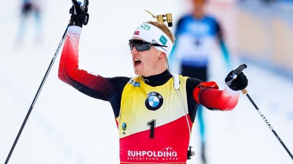 Носителят на Световната купа по биатлон Йоханес Тингнес Бьо е заработил над 320 хиляди евро