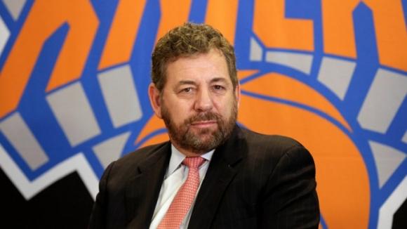 Собственикът на Ню Йорк Никс и Ню Йорк Рейнджърс...