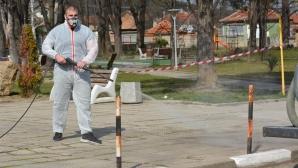 Национал по борба дезинфекцира улици и паркове