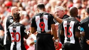 """Мениджърът на Нюкасъл призова за """"Фестивал на футбола"""" в Англия"""