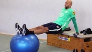 Треньорът на Волфсбург похвали футболистите за тренировките по групи