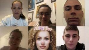 Станимира Петрова и Елица Янкова проведоха видео чат с младежи