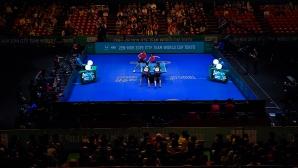Състезанията по тенис на маса бяха спрени до 30 юни