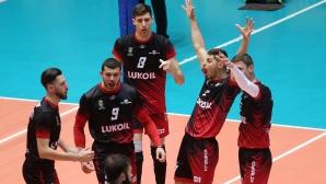 Волейболният сезон е прекратен, Нефтохимик и Марица са шампиони (видео)