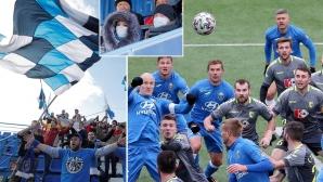 В организация на футболистите се чудят защо в Беларус продължават да играят