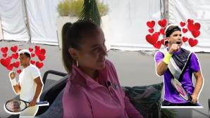 Шампионката на Australian Open пожела (ваканция с) Григор Димитров (видео)