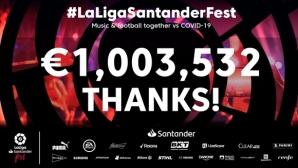 Огромен успех! LaLiga Fest събра над 50 млн. зрители, които дариха над 1 млн. евро