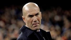 Зидан повдигнал духа на играчите във видеоразговор