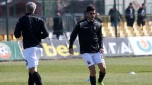 Първи бъгарски клуб поднови тренировки