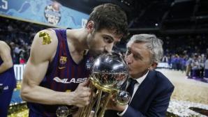 Капитанът на Барселона Анте Томич: Играчите сме привилегировани
