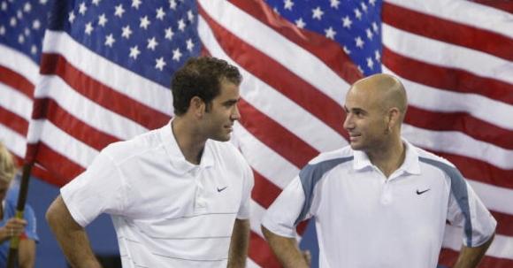 Сампрас и Агаси - двама от боговете на тениса