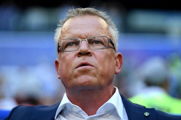Селекционерът на шведските футболни национали Яне...