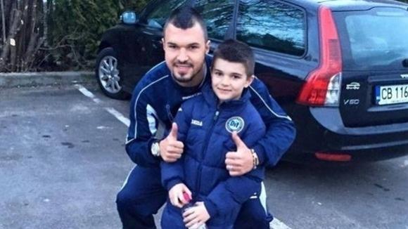 Валери Божинов-младши отговори на предизвикателството на баща си (видео)