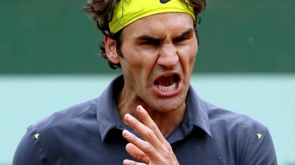 10 случая, в които Федерер се вбеси на корта (видео)